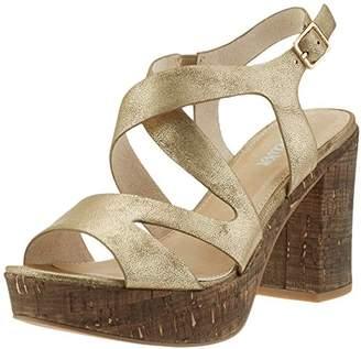 S'Oliver 28308, Women's Wedge Heels Sandals, Gold (Gold Metallic 944), (36 EU)
