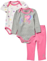 Juicy Couture 2 Bodysuits & Pants Set (Baby Girls)