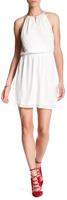 BCBGeneration Halter Mini Dress
