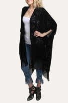 Love Stitch Lovestitch Velvet Split Kaftan