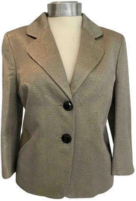 Sara Berman \N Gold Jacket for Women Vintage