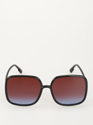 Christian Dior Square Oversize Sunglasses