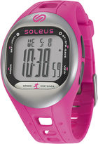 Soleus Tempo Womens Accelerometer Pink Digital Fitness Watch
