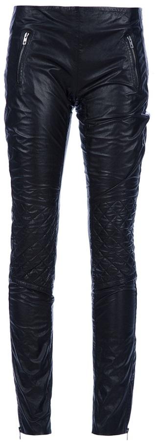 Joseph leather trouser