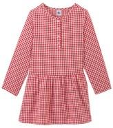 Petit Bateau Girls gingham check dress