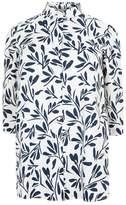 Marina Rinaldi Leaf Print Shirt