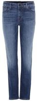 J Brand Amelia Mid-rise Straight jeans