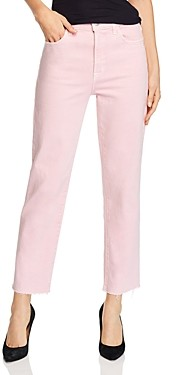 J Brand Jules High-Rise Straight-Leg Jeans in Anemone - 100% Exclusive