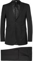 Burberry - Black Slim-fit Wool Suit