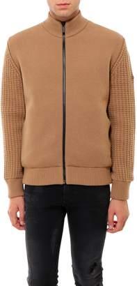 Ermenegildo Zegna Zipped Knit Bomber Jacket