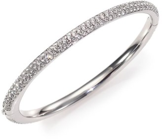 Adriana Orsini Pave Crystal Bangle Bracelet