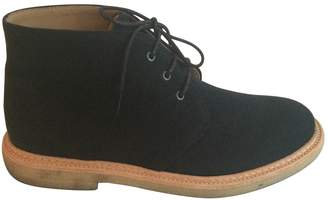A.P.C. \N Navy Cloth Boots