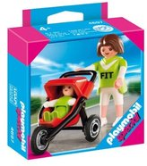 Playmobil 4697 Special: Mother with Baby & Stroller