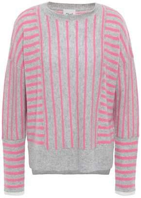 Charli Charlo Two-tone Intarsia Cashmere Sweater