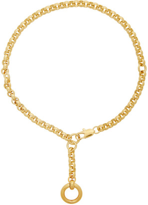 Laura Lombardi Gold Rina Necklace