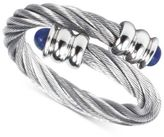 Charriol Women's Celtic Lapis Lazuli-Accent Stainless Steel Cable Ring