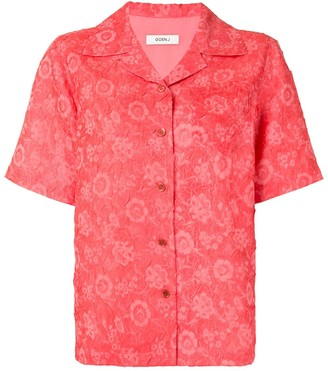 GOEN.J Floral Short-Sleeve Shirt