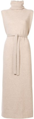Lemaire belted knitted dress