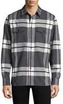 Rag & Bone Jack Plaid Cotton Button-Down Shirt