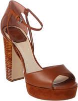 Christian Dior Leather Platform Sandal