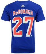 adidas Men's Ryan McDonagh New York Rangers Silver Player T-Shirt