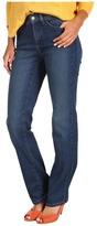 NYDJ Marilyn Straight Leg in Louisiana Wash Stretch Denim (Louisiana Wash) - Apparel