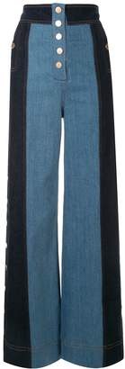 Alice McCall Electric Memories panelled jeans