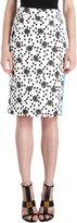 Ungaro Margarita-print Pencil Skirt