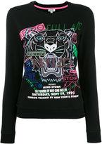 Kenzo graphic print sweatshirt - women - Cotton/Polyester/metal - M