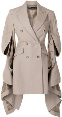 Y/Project Draped Sides Blazer Dress