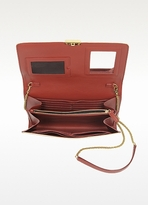 Marc Jacobs All In One Terracotta Leather Crossbody Bag