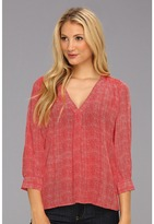 Joie Aceline Top (Poppy) - Apparel
