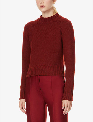 Vince High-neck cashmere jumper