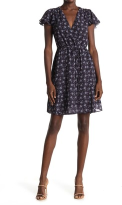 French Connection Agata Floral Print Dress