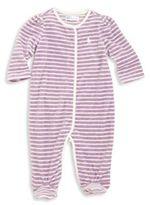 Ralph Lauren Baby's Cotton Blend Striped Footie