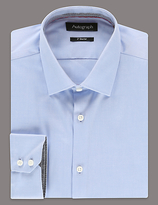 Autograph 2in Shorter Pure Cotton Tailored Fit Shirt