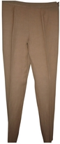 Valentino Khaki Linen Trousers