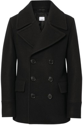 Burberry Double-Breasted Pea Coat
