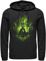 Disney Men's Sleeping Beauty Dark Detailed Maleficent Hoodie