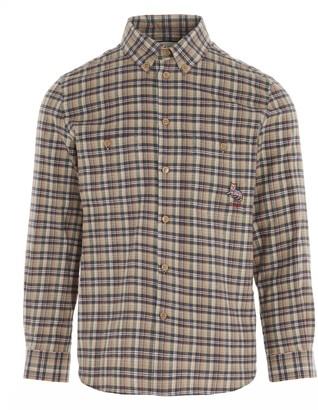 Gucci Cat Patch Check Shirt