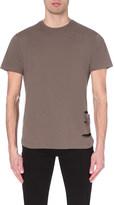 Criminal Damage Distressed cotton-jersey t-shirt