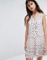 AllSaints Deirdre Ruffle Dress