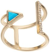 Juicy Couture Open Triangle Bar Ring