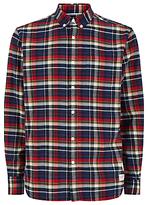 Penfield Barrhead Check Shirt, Blue