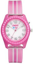Limited Too Kids' Pink Striped Watch