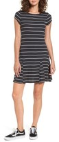 Billabong Women's Rockin Down Stripe T-Shirt Dress