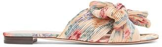 Loeffler Randall Daphne Flat Floral Sandals