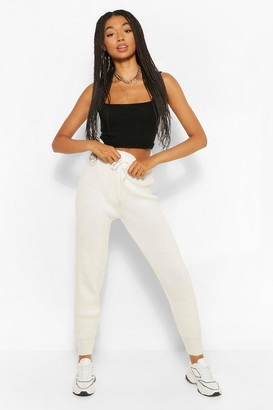 boohoo Colour Block Knitted Tracksuit