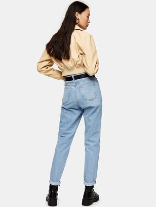 Topshop Mom Jeans - Bleach