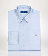 Polo Ralph Lauren Fitted Classic-Fit Point-Collar Solid Oxford Dress Shirt
